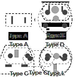 Stekker type A D G